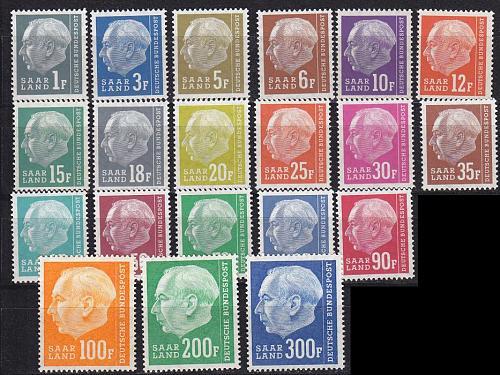 GERMANY Saar [1957] MiNr 0409-28 ( **/mnh )