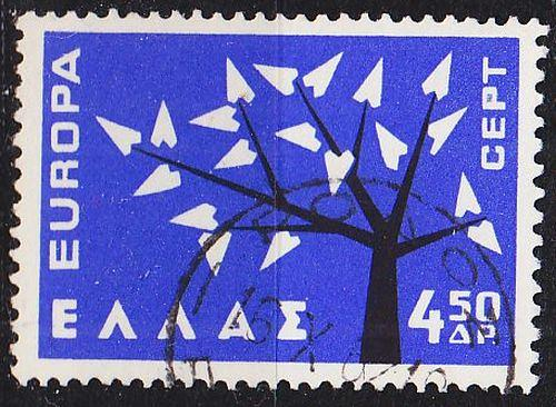 GRIECHENLAND GREECE [1962] MiNr 0797 ( O/used ) CEPT