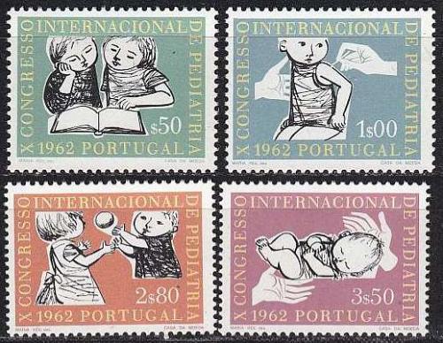 PORTUGAL [1962] MiNr 0923-26 ( **/mnh )