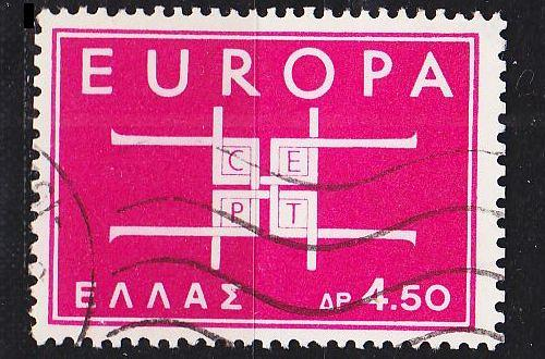 GRIECHENLAND GREECE [1963] MiNr 0822 ( O/used ) CEPT