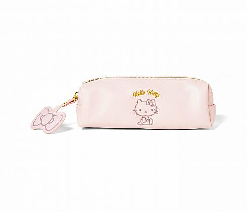 New Hello Kitty Pastel Pencil Pouch Only Kitty on it Fast Free Shipping