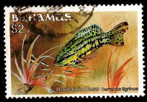 BAHAMAS [1986] MiNr 0630 XI ( O/used ) Fische