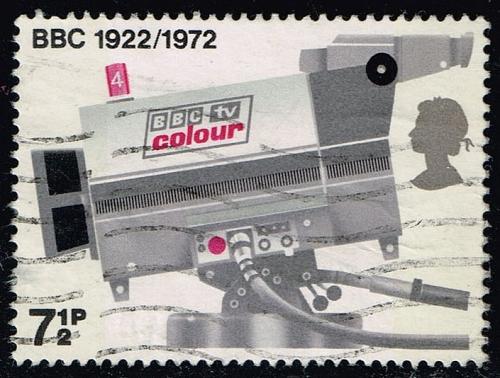 Great Britain #678 TV Camera; Used (0.40) (1Stars)  GBR0678-01XRS