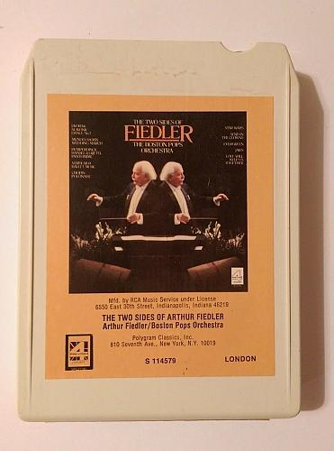 The Two Sides of Arthur Fiedler & Boston Pops Orchestra (8-Track Tape, S114579)