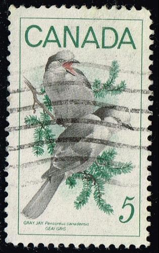 Canada #478 Gray Jays; Used (3Stars) |CAN0478-01XRS