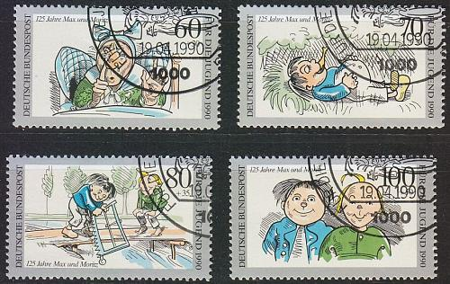 GERMANY BUND [1990] MiNr 1455-58 ( O/used )