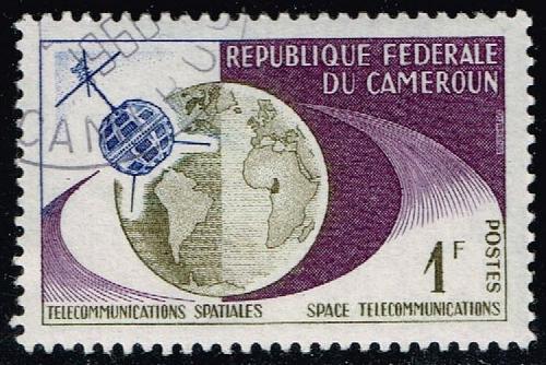 Cameroun #380 Telestar and Globe; CTO (4Stars)  CMR0380-01XVA
