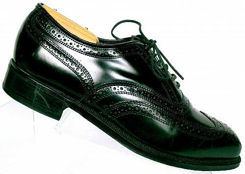 Florsheim Lexington Men's Black Leather Wingtip Lace Up Oxfords Size 9 D