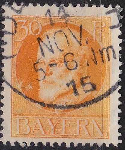 GERMANY Bayern Bavaria [1914] MiNr 0099 I ( O/used )
