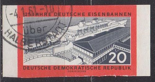 GERMANY DDR [1960] MiNr 0804 B ( OO/used ) Eisenbahn