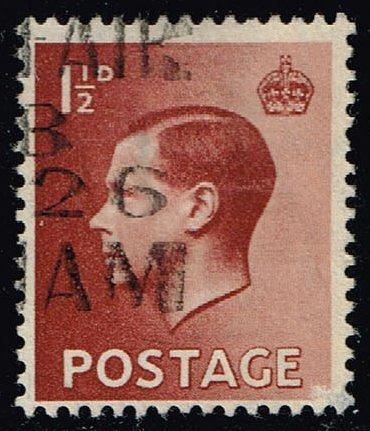 Great Britain #232 King Edward VIII; Used (0.35) (2Stars)  GBR0232-04XRS