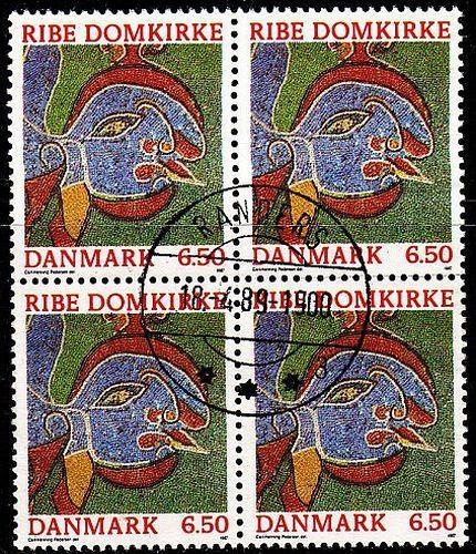 DÄNEMARK DANMARK [1987] MiNr 0893 4er ( O/used ) schön