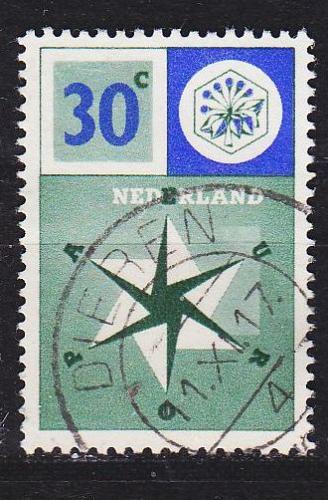 NIEDERLANDE NETHERLANDS [1957] MiNr 0705 ( O/used ) CEPT