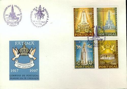 PORTUGAL [1967] MiNr 1029-32 ( FDC )