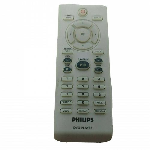 Genuine Philips DVD Player Remote Control RC-2010 Tested Works