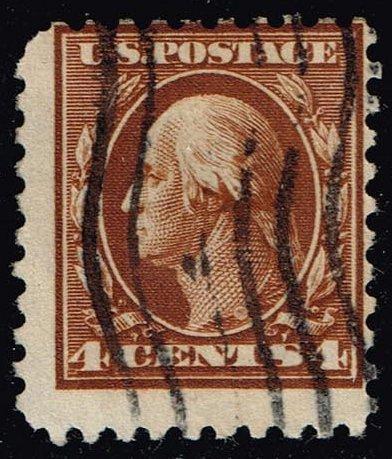 US #465 George Washington; Used (1Stars)  USA0465-05