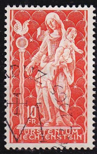 LIECHTENSTEIN [1965] MiNr 0449 ( O/used ) Religion