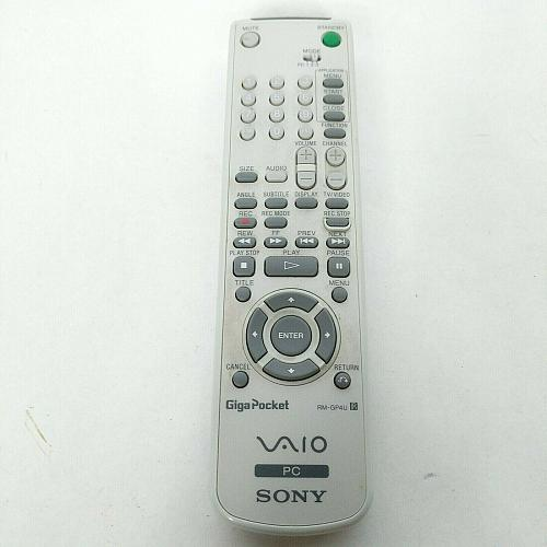 Genuine Sony Giga Pocket PC Remote Control RM-GP4U Tested Works