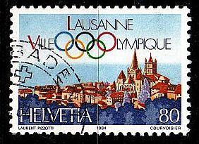SCHWEIZ SWITZERLAND [1984] MiNr 1269 ( O/used ) Sport