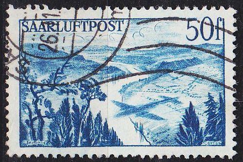GERMANY Saar [1948] MiNr 0253 ( O/used )