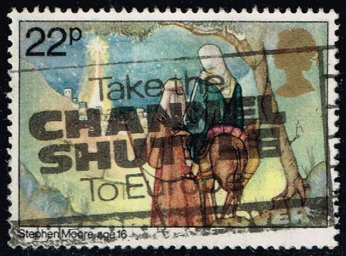 Great Britain #963 Joseph and Mary at Bethlehem; Used (0.50) (4Stars) |GBR0963-01XVA