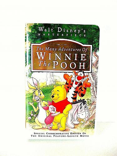 The Many Adventures of Winnie the Pooh VHS Walt Disney (#vhp)