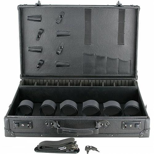 Large Travel Barber Clipper Trimmer Shear Blade Tool Case Stylist Organizer Box