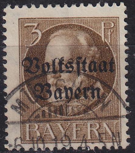 GERMANY Bayern Bavaria [1919] MiNr 0116 A ( O/used )