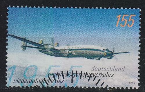 GERMANY BUND [2005] MiNr 2450 ( O/used ) Flugzeuge