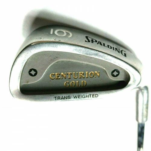 Spalding Centurion Gold 6 Iron Right Hand Flex Steel Golf Club