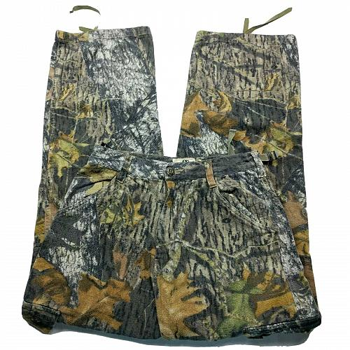 Mossy Oak Apparel Camo Camouflage Hunting Straight Jeans Size Small