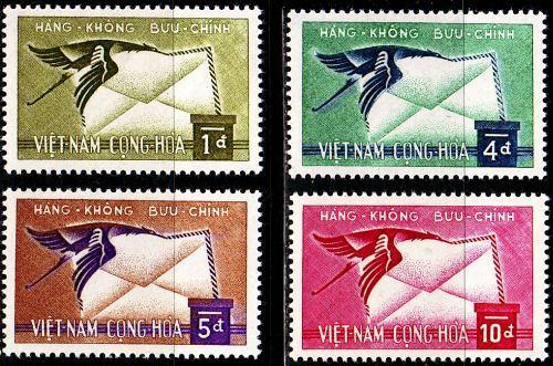 VIETNAM SÜD SOUTH [1960] MiNr 0223-26 ( **/mnh )