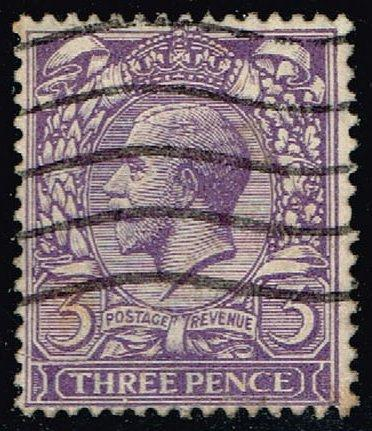 Great Britain #164 King George V; Used (3.25) (2Stars)  GBR0164-04XRS