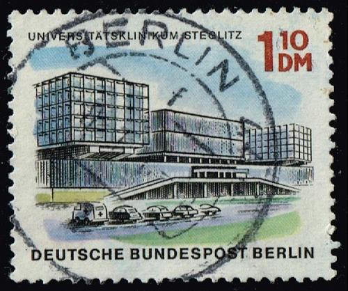 Germany #9N234 University Clinic; Used (3Stars) |DEU9N234-01XRS