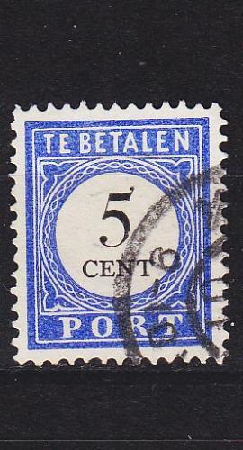 NIEDERLANDE NETHERLANDS [Porto] MiNr 0006 I E ( O/used )