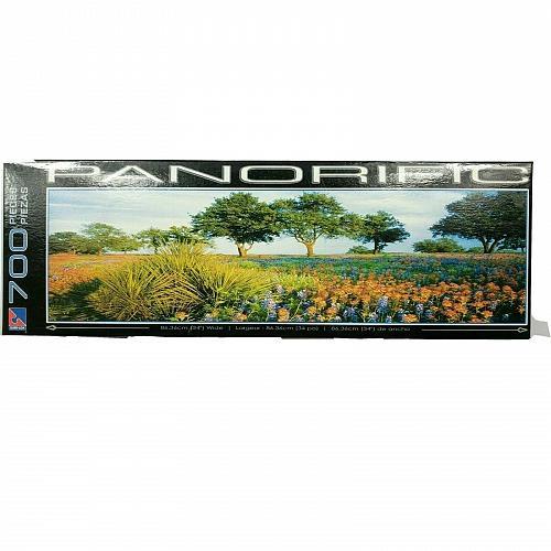 Sure-Lox Panorific 700 Piece Puzzle Field Of Dreams Landscapes 2006 Complete
