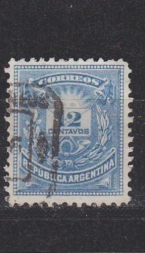 ARGENTINIEN ARGENTINA [1884] MiNr 0049 a ( O/used )