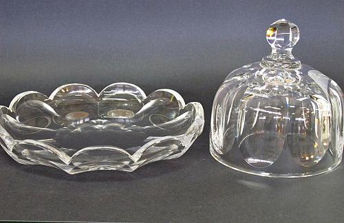"""8"""" Covered cheese dish Serving Plate"""