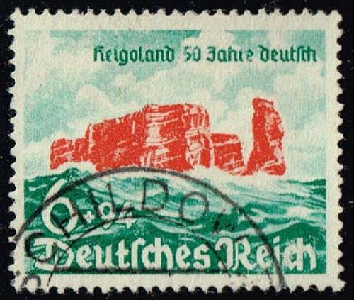 Germany #B176 Cliffs of Heligoland; Used (3Stars) |DEUB0176-01XRP
