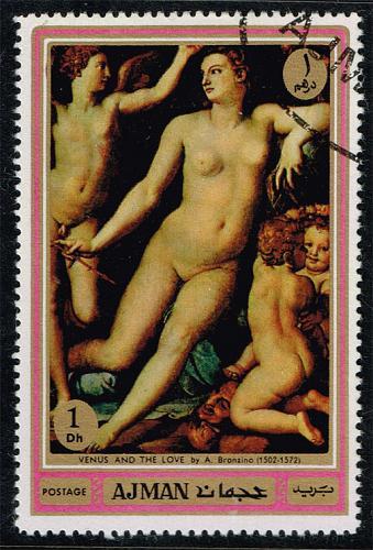 Ajman **U-Pick** Stamp Stop Box #154 Item 93  USS154-93XRS