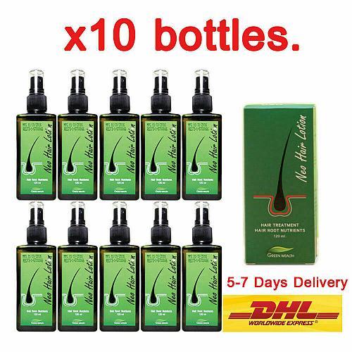 10 Neo Hair Lotion Growth Root Hair Loss Treatments Tonic (100% Genuine) 120 ml