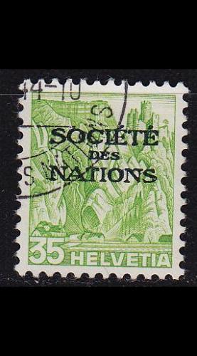 SCHWEIZ SWITZERLAND [SDN] MiNr 0054 ( O/used )