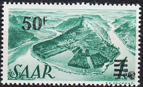GERMANY Saar [1947] MiNr 0238 II ( **/mnh )
