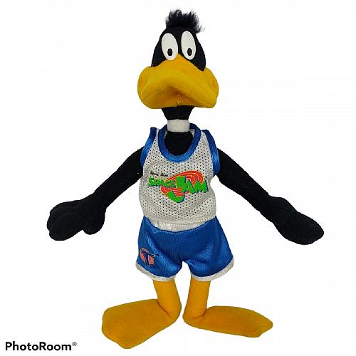 Looney Tunes Space Jam Daffy Duck McDonalds Plush Stuffed Animal 1996 8.5""
