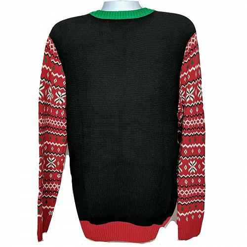 NWT Ugly Christmas Sweater Polar Bear Light Up Let It Glow Lg Long Sleeve