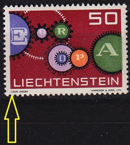 LIECHTENSTEIN [1961] MiNr 0414 I ( **/mnh )