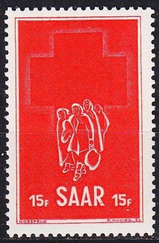 GERMANY Saar [1952] MiNr 0318 ( **/mnh )