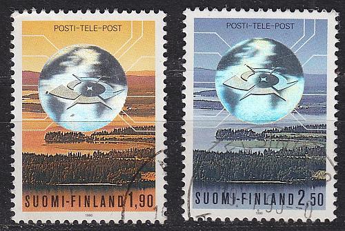 FINLAND SOUMI [1990] MiNr 1098-99 ( O/used ) Post