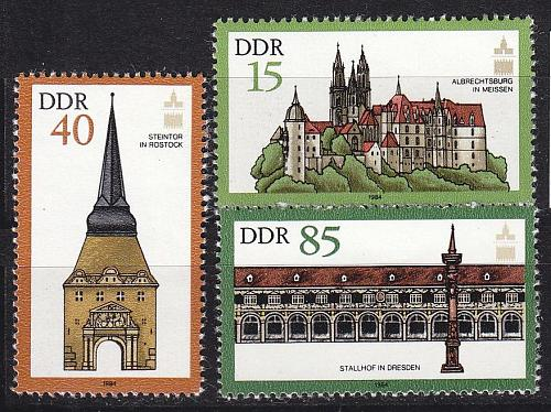 GERMANY DDR [1984] MiNr 2869 ex ( **/mnh ) [01] Architektur