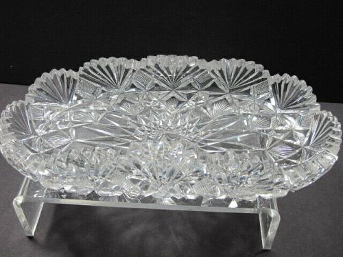 Cut glass ABP Brazilian tray Antique